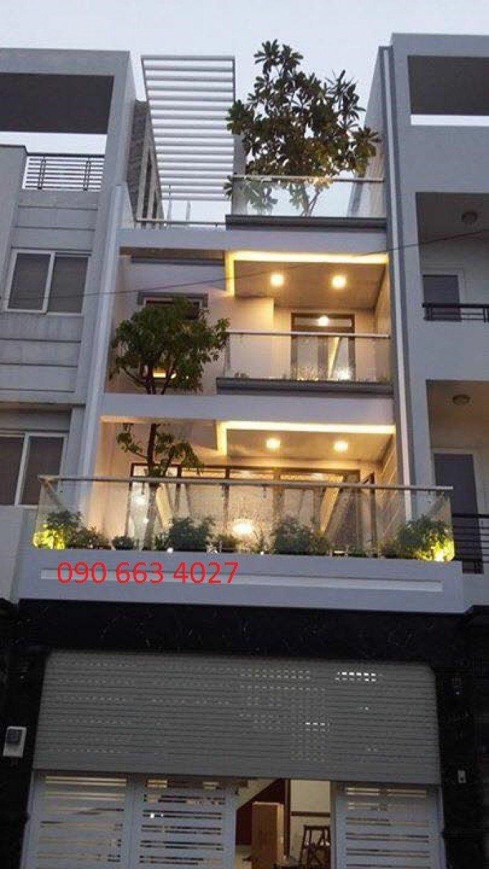 Bán nhà MT Nguyễn Văn Đậu, Bình Thạnh, DT 4.2 x 25m