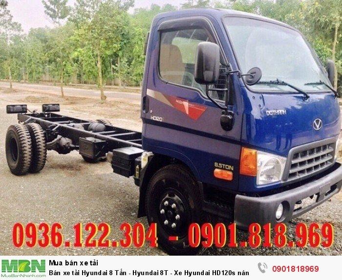 Bán xe tải Hyundai 8 Tấn - Hyundai 8T - Xe Hyundai HD120s nâng tải mới nhất - Giao ngay trong ngày