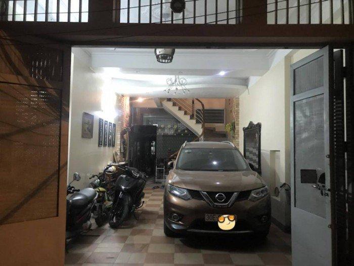 Nhà đẹp, ngõ ô tô tránh Lương Khánh Thiện Hoàng Mai 66mx4T, MT5m,giá 6.8 tỷ