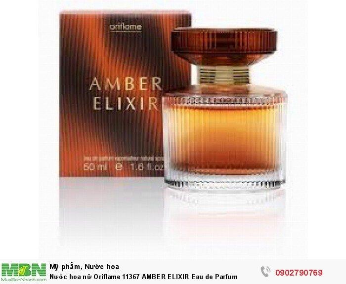 Nước hoa nữ Oriflame 11367 AMBER ELIXIR Eau de Parfum1