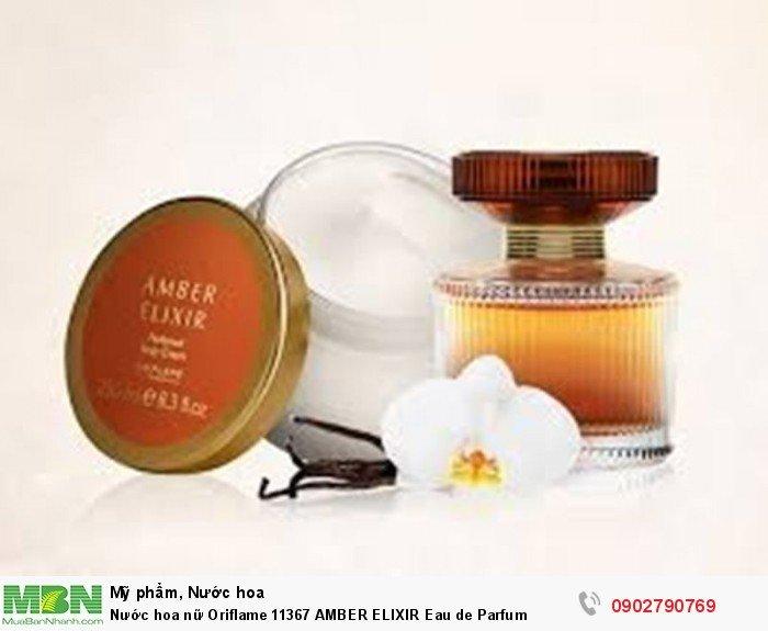 Nước hoa nữ Oriflame 11367 AMBER ELIXIR Eau de Parfum3