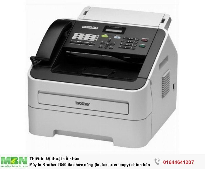 Máy in Brother 2840 đa chức năng (in, fax laser, copy) chính hãng