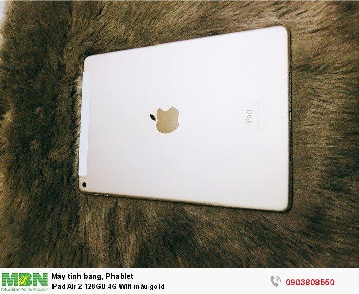 IPad Air 2 128GB 4G Wifi màu gold1