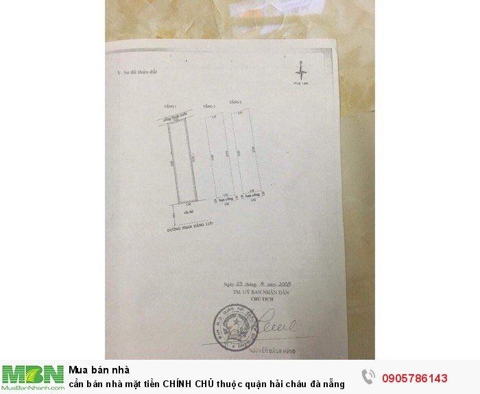 Cần bán nhà mặt tiền CHÍNH CHỦ thuộc quận hải châu đà nẵng