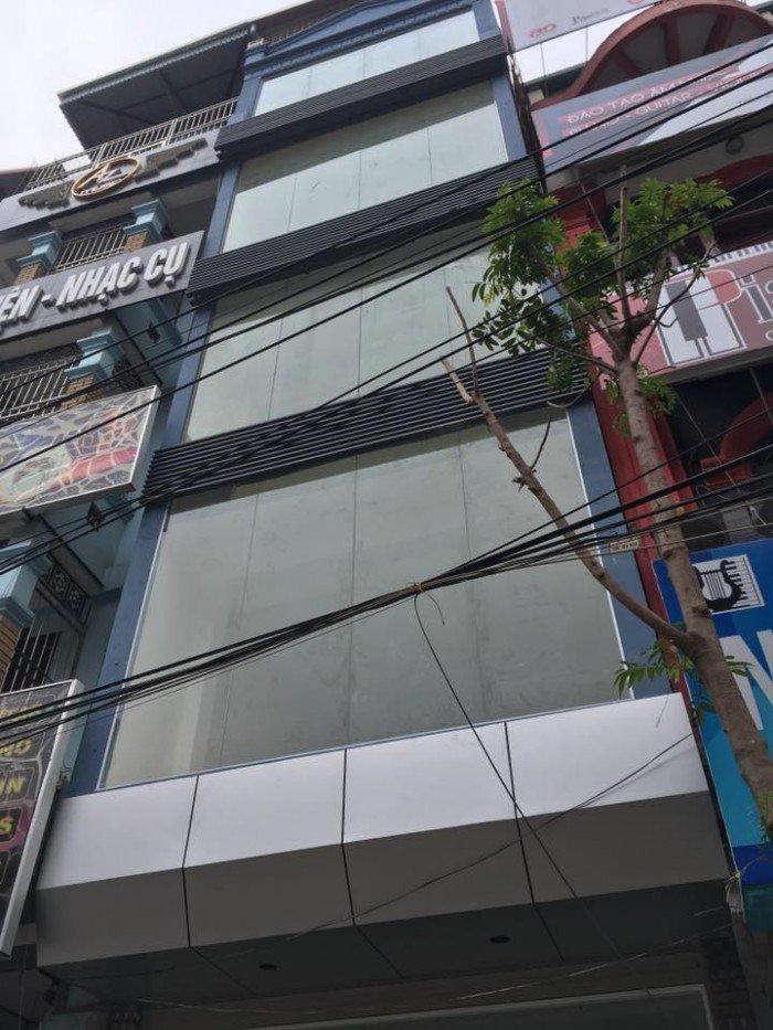 Mặt phố Khương Trung 100m2, 6 tầng, MT 4,5m, vỉa hè, KD