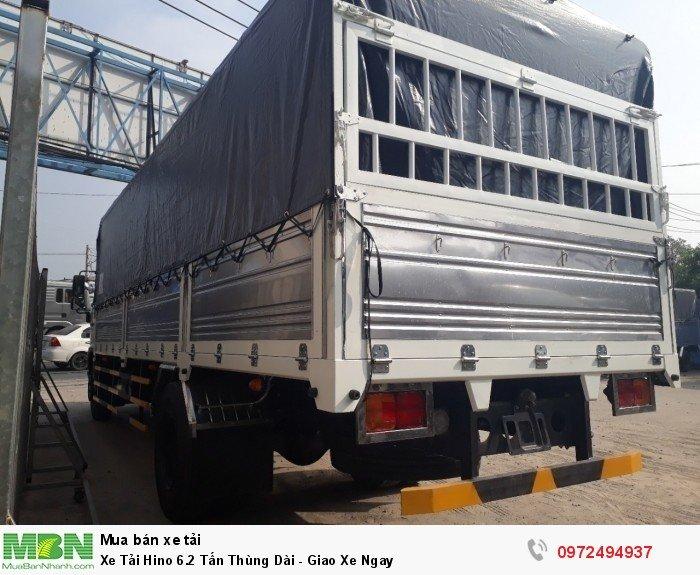 Gọi ngay 0972 49 49 37 nhận báo giá, khuyến mãi xe tải Hino 6. 2 tấn từ Ô Tô Miền Nam.