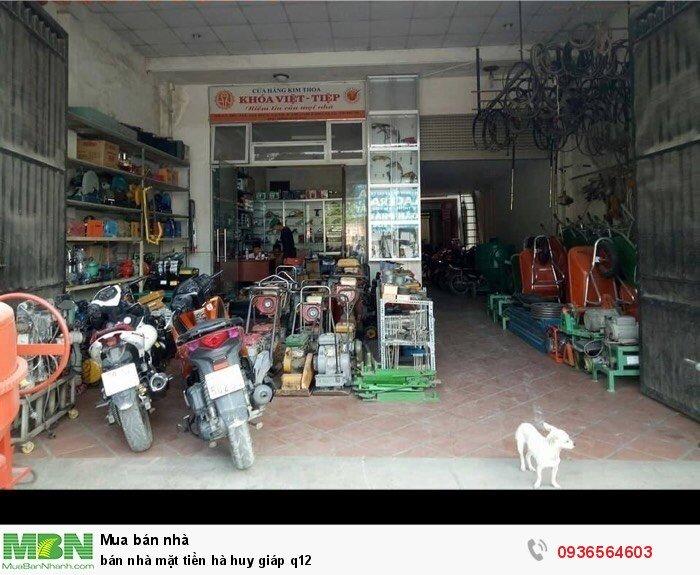 Bán nhà mặt tiền đường Hà Huy Giáp quận 12