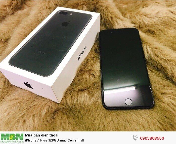 IPhone 7 Plus 128GB màu đen zin all0