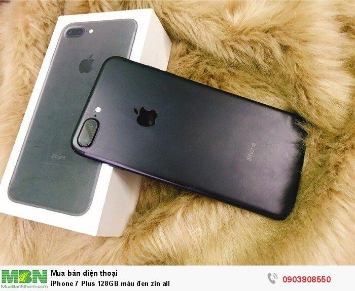 IPhone 7 Plus 128GB màu đen zin all1