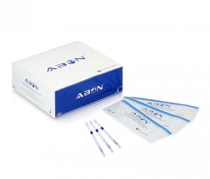 Test thử viêm gan B - Hbsag của hãng Abon0