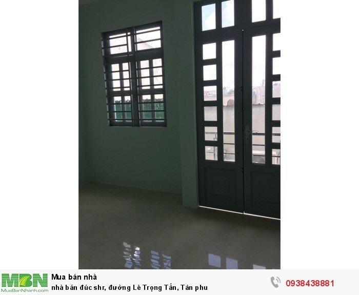 Nhà bán đúc shr, đường Lê Trọng Tấn, Tân Phú