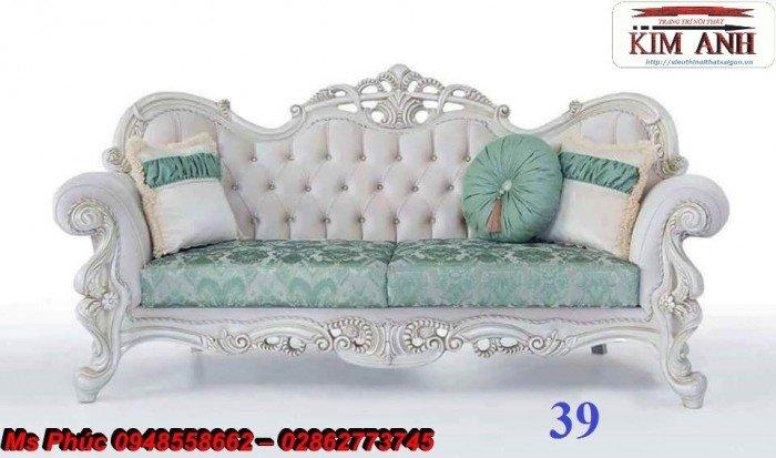 Ghế lười nằm thư giãn màu trắng ms 38 chạm khắc cnc tinh xảo - nội thất Kim Anh27