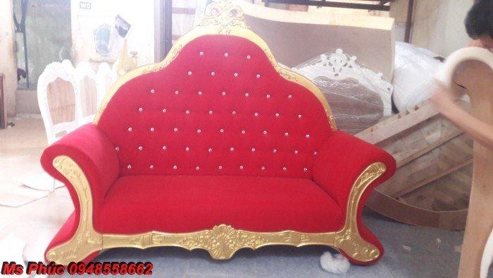 Ghế lười nằm thư giãn màu trắng ms 38 chạm khắc cnc tinh xảo - nội thất Kim Anh26