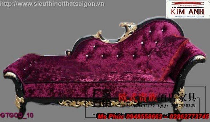 Ghế lười nằm thư giãn màu trắng ms 38 chạm khắc cnc tinh xảo - nội thất Kim Anh24
