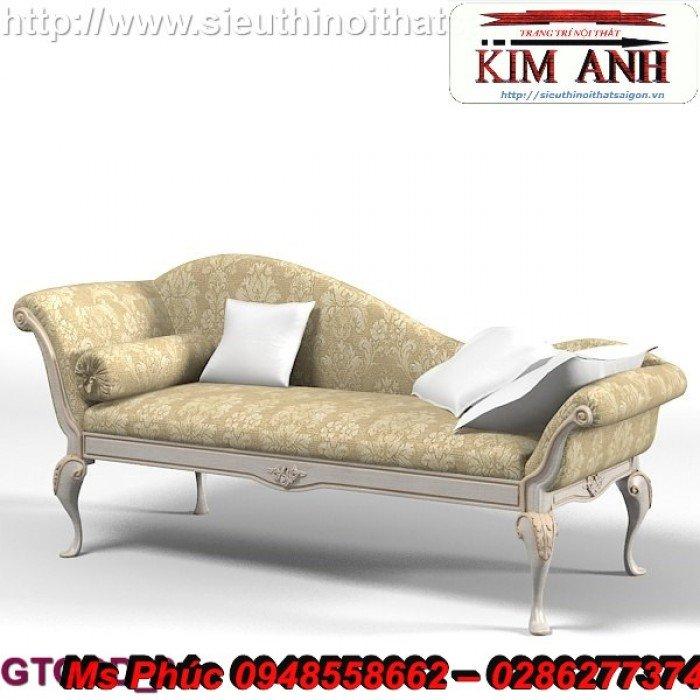 Ghế lười nằm thư giãn màu trắng ms 38 chạm khắc cnc tinh xảo - nội thất Kim Anh3