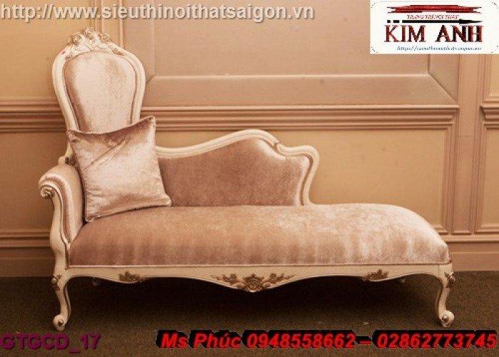 Ghế lười nằm thư giãn màu trắng ms 38 chạm khắc cnc tinh xảo - nội thất Kim Anh15