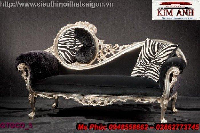 Ghế lười nằm thư giãn màu trắng ms 38 chạm khắc cnc tinh xảo - nội thất Kim Anh16