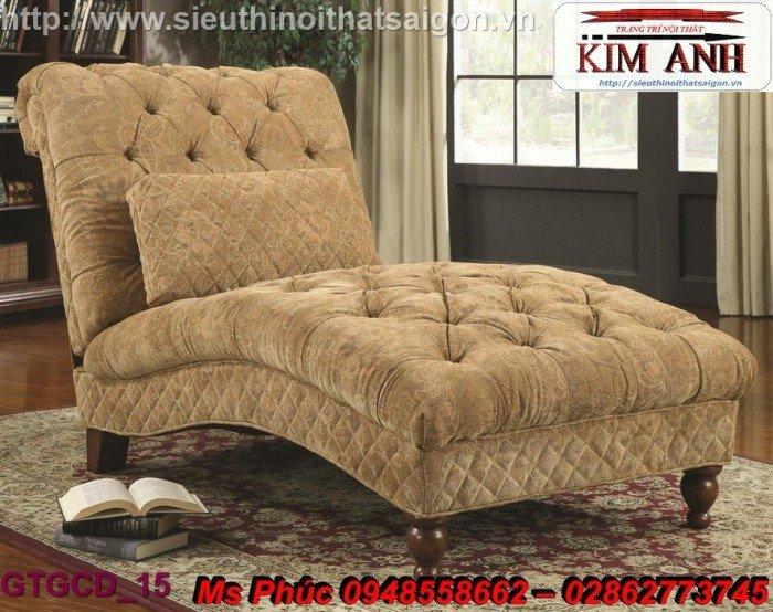 Ghế lười nằm thư giãn màu trắng ms 38 chạm khắc cnc tinh xảo - nội thất Kim Anh8