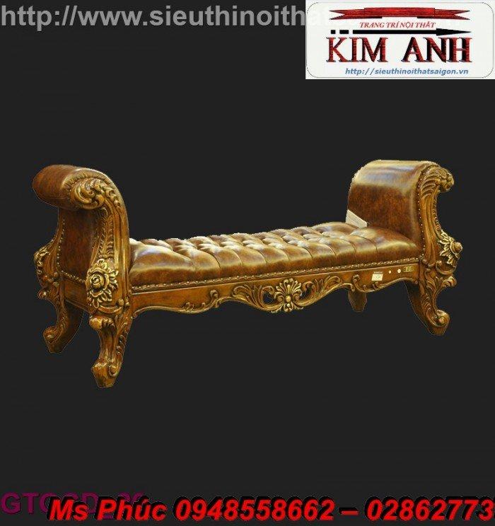 Ghế lười nằm thư giãn màu trắng ms 38 chạm khắc cnc tinh xảo - nội thất Kim Anh5