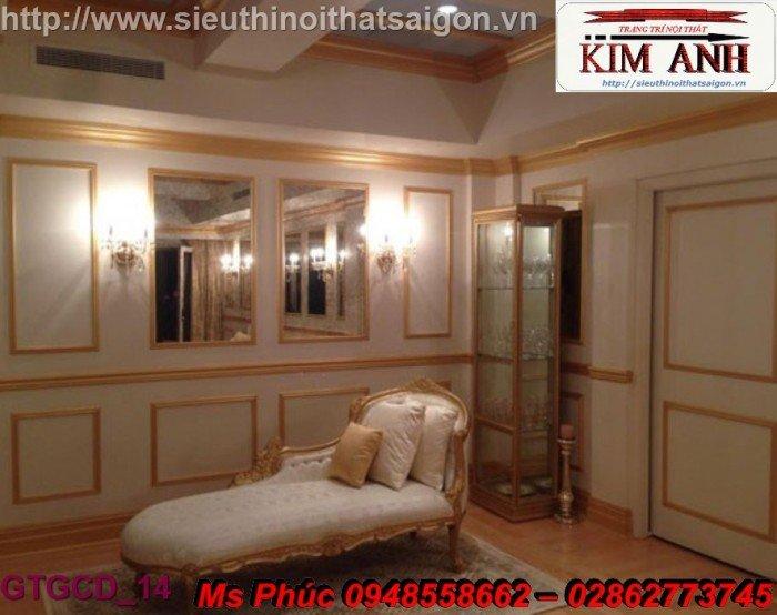 Ghế lười nằm thư giãn màu trắng ms 38 chạm khắc cnc tinh xảo - nội thất Kim Anh11