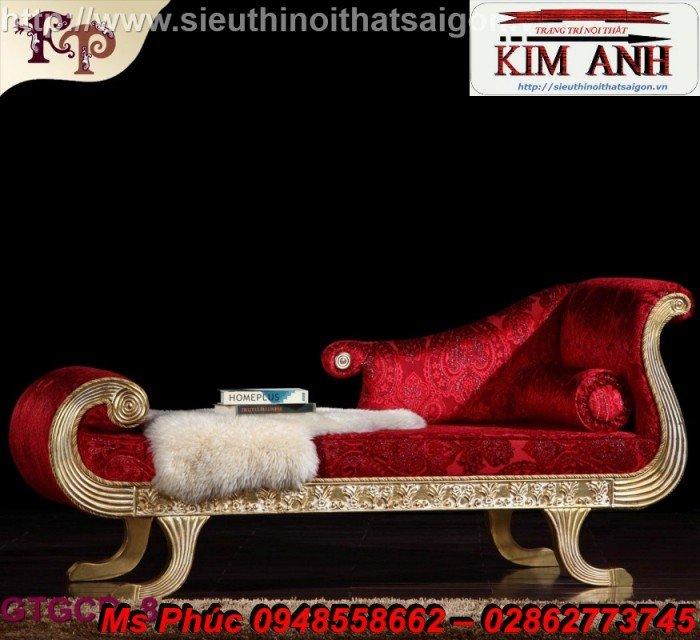 Ghế lười nằm thư giãn màu trắng ms 38 chạm khắc cnc tinh xảo - nội thất Kim Anh6