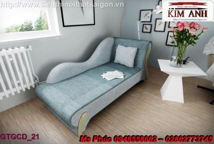 Ghế lười nằm thư giãn màu trắng ms 38 chạm khắc cnc tinh xảo - nội thất Kim Anh14