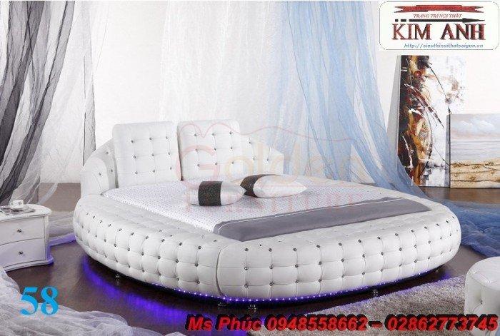 Giường tròn, giường HongKong màu tím ms 70 giá rẻ tại tphcm - nội thất Kim Anh sài gòn27