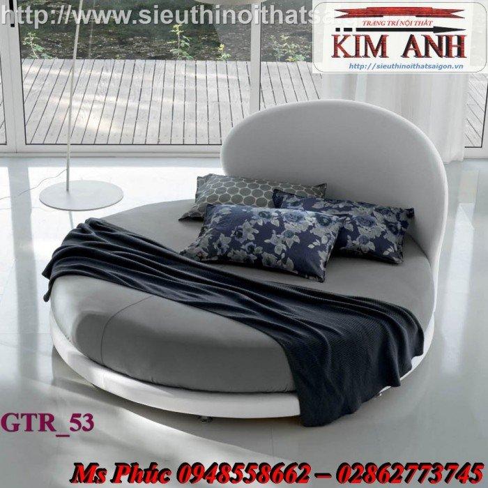 Giường tròn, giường HongKong màu tím ms 70 giá rẻ tại tphcm - nội thất Kim Anh sài gòn17