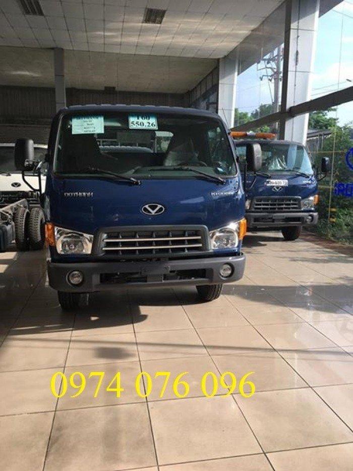 Xe tải Hyundai HD99 - Tải trọng 6,5 tấn - thùng mui bạt
