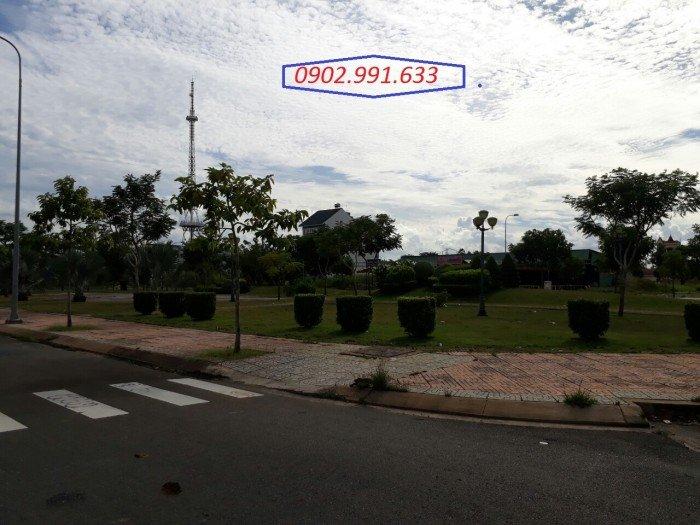 Ưu đãi cuối năm, đất thổ cư khu phố tài chính Nguyễn Hữu Thọ 100m2, sổ hồng riêng,
