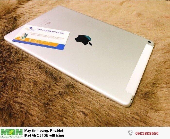 IPad Air 2 64GB wifi trắng4