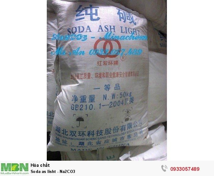Soda as lisht - Na2CO32