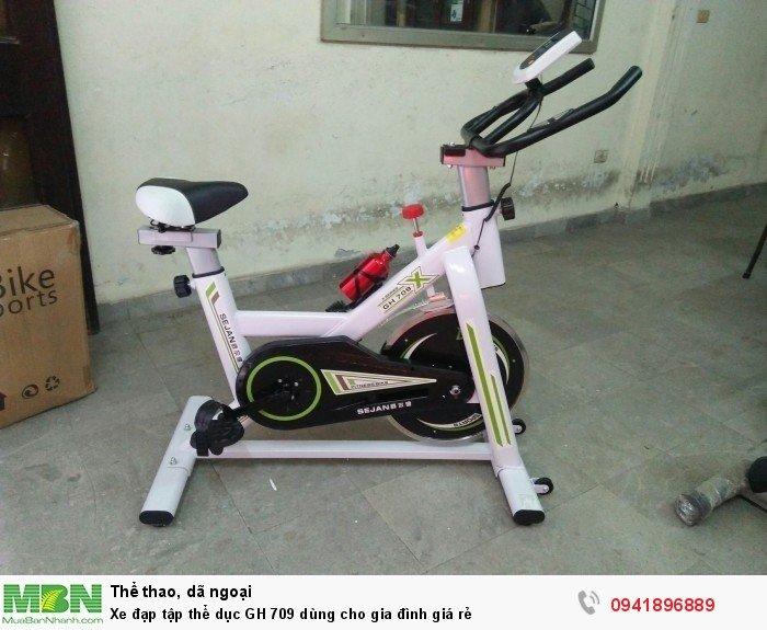 Xe đạp tập thể dục GH 709 dùng cho gia đình giá rẻ
