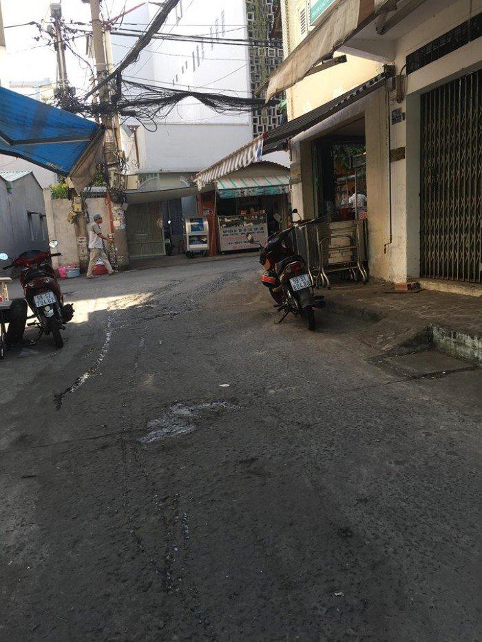 Bán nhà Bình Thạnh, đường Trần Qúy Cáp, HXH