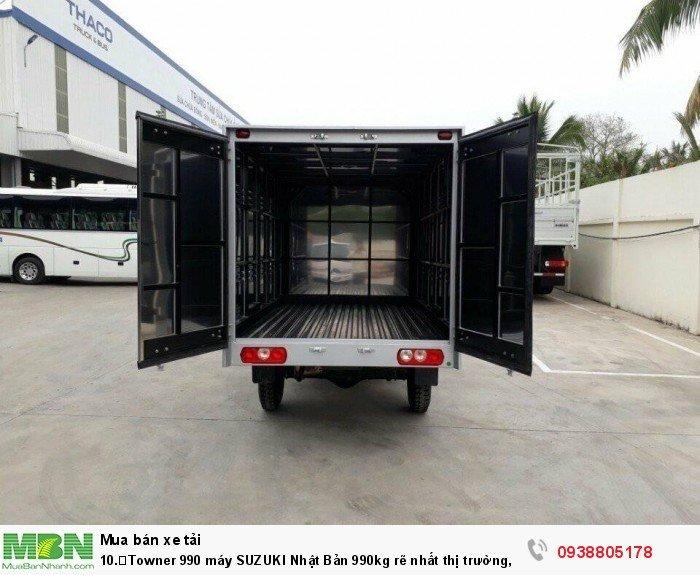 Towner 990 máy SUZUKI Nhật Bản 990kg rẽ nhất thị trường,mua xe tải máy xăng 900kg,990kg
