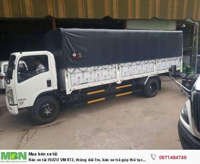 Bán xe tải ISUZU VM 8T2, thùng dài 7m, bán xe trả góp thủ tục nhanh, giao xe ngay!