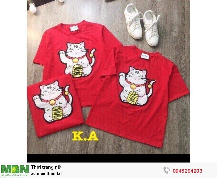 áo mèo thần tài