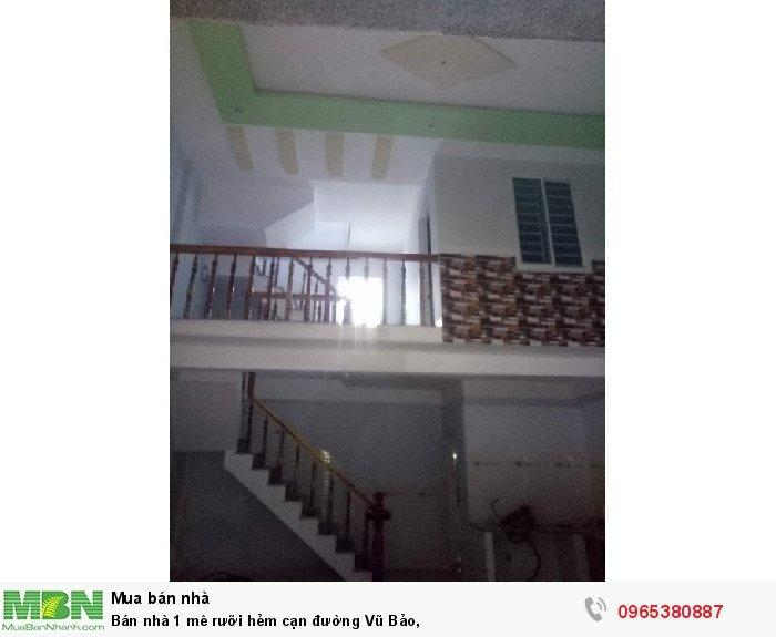 Bán nhà 1 mê rưỡi hẻm cạn đường Vũ Bảo