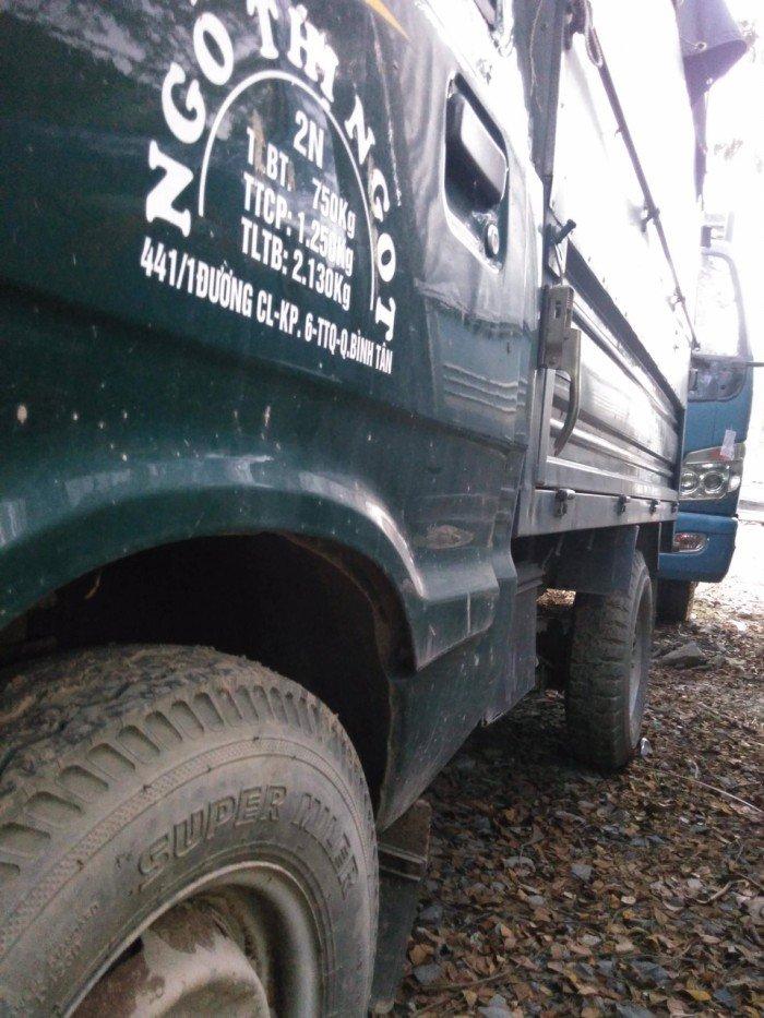 Xe tải cũ TMT 1t25 thùng bạt đời 2016 3