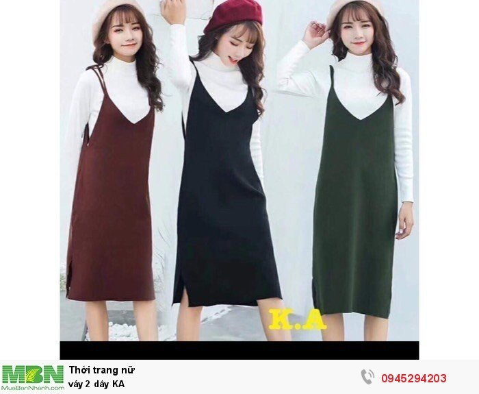 Váy 2 dây KA