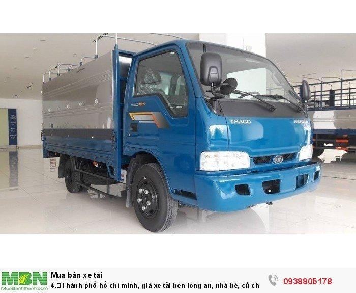 Thành phố Hồ Chí Minh bán xe tải Kia K165S/ Kia 2T4 đời 2017, giá xe tải 1t4,1t9,2t4,có xe giao ngay.