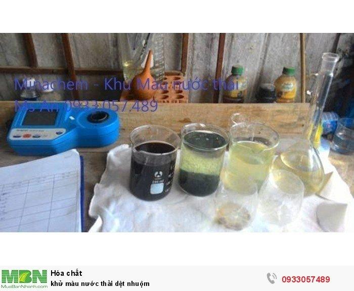 Khử màu nước thải nhà máy bia0