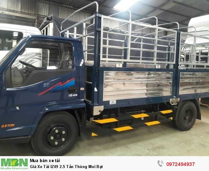 Giá xe tải IZ49 2.5 tấn thùng mui bạt - Xe luôn có sẵn có thể giao xe ngay