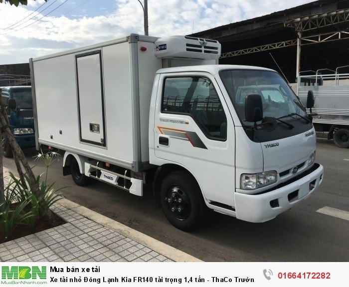 Xe tải nhỏ Đông Lạnh Kia FR140 tải trọng 1,4 tấn - ThaCo Trường Hải - Trả góp 75%