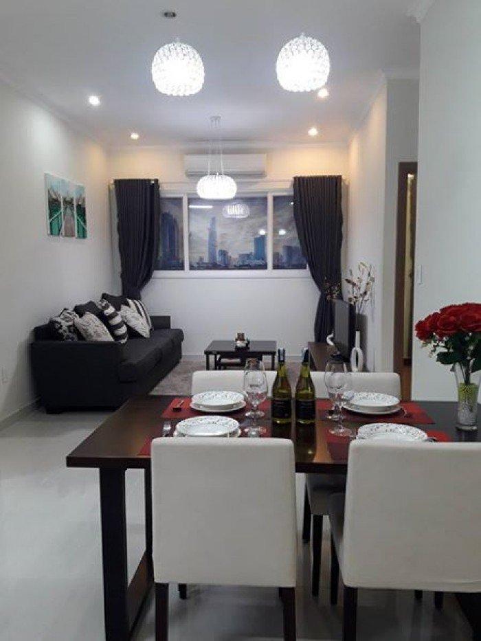 Cho thuê nhà nguyên căn Nguyễn Thái Bình, DT: 4x18m, 3 lầu, Giá: 80tr/tg