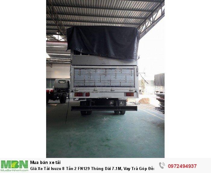 Giá xe tải isuzu 8 tấn 2 FN129 - nhận lo các thủ tục giấy tờ , bao ra biển số xe ở các tỉnh , cam kết giá tốt