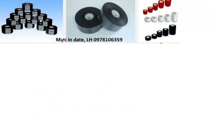 Mực in date, cung cấp mưc nhiệt, mực đóng date, mực ruyban0
