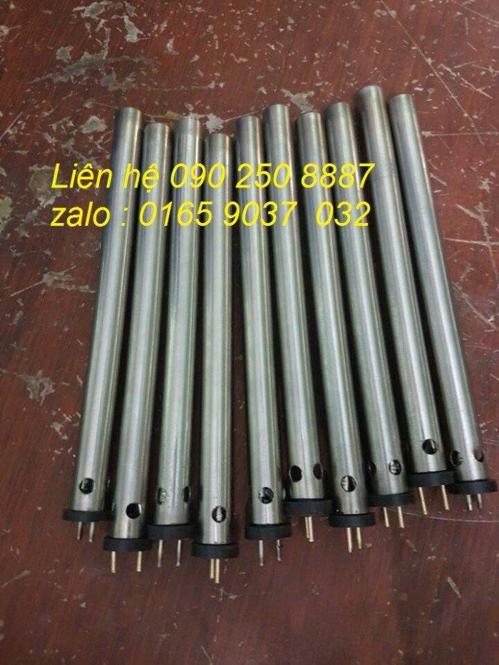 Điện trở ép sim phi 16x200/220v-3600W dùng trong ngành may.