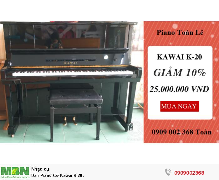 Đàn Piano Cơ Kawai K-20.0