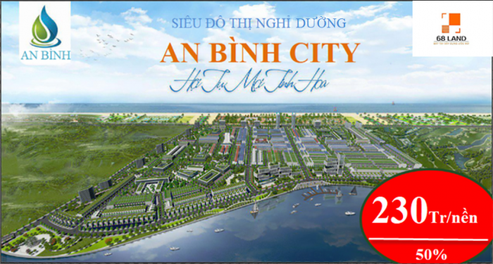Bán đất dự án An Bình City với dòng biệt thự ven sông Cổ Cò siêu hot phía Bắc Hội An